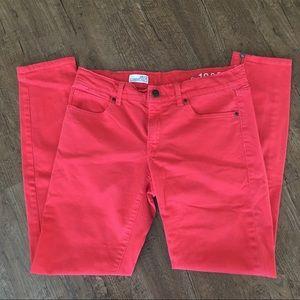 Burnt Orange GAP Legging Jean